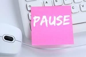Arbeitszeit Pausen